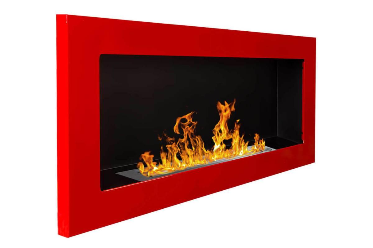 camino a bioetanolo in gel mm a parete rosso vetro